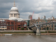 Foster's Footbridge with St. Paul's behind